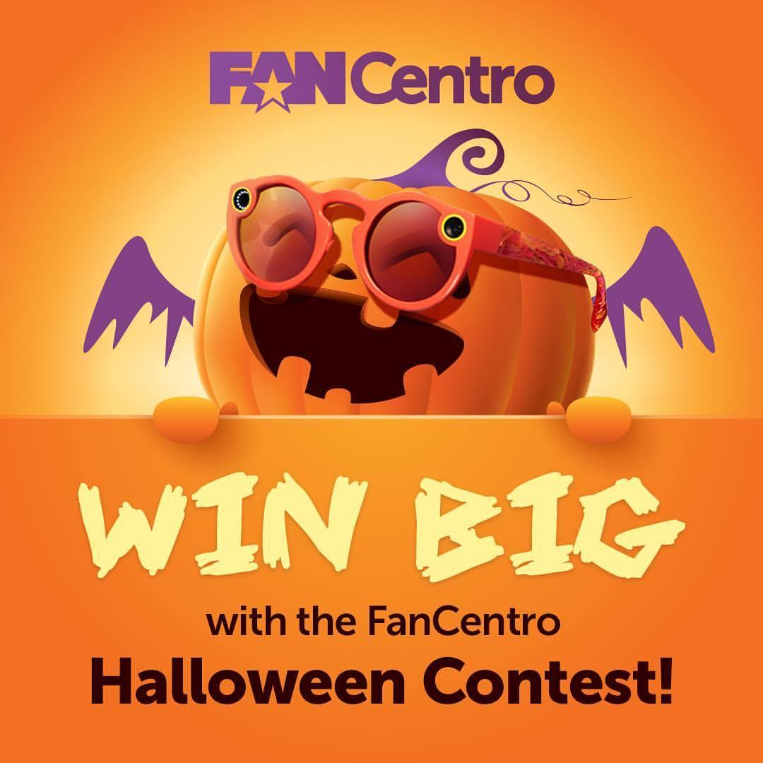 Win Snap Spectacles & more with the 1st Ever FanCentro Spooktacular Halloween Contest!