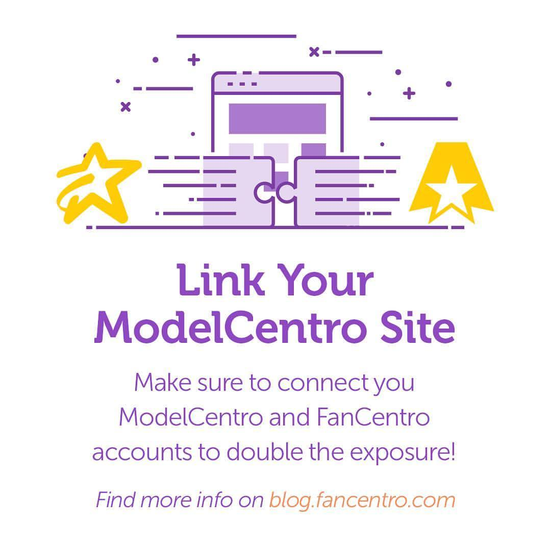 Link Your ModelCentro Site to Your FanCentro Account