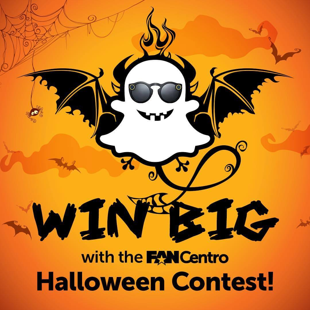 Win Big with the FanCentro Halloween Contest!