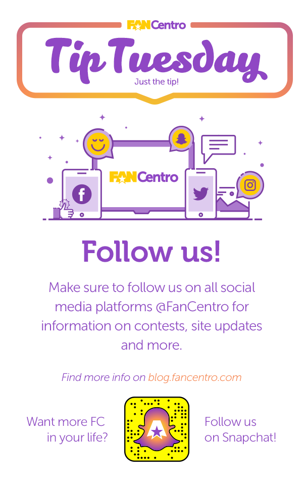 FanCentro Tip Tuesday