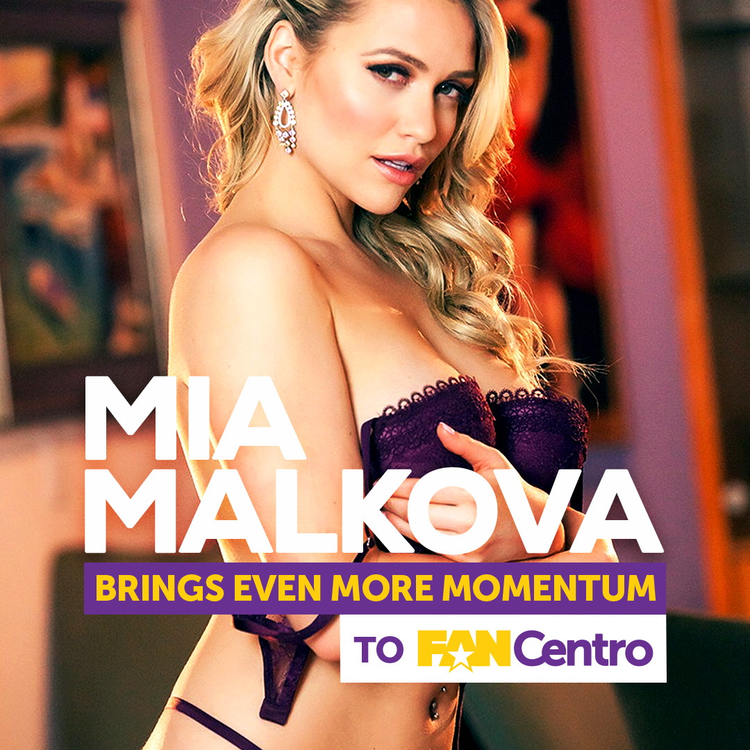 Mia Malkova Joins FanCentro!