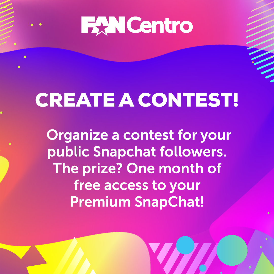 Create a contest for your followers!