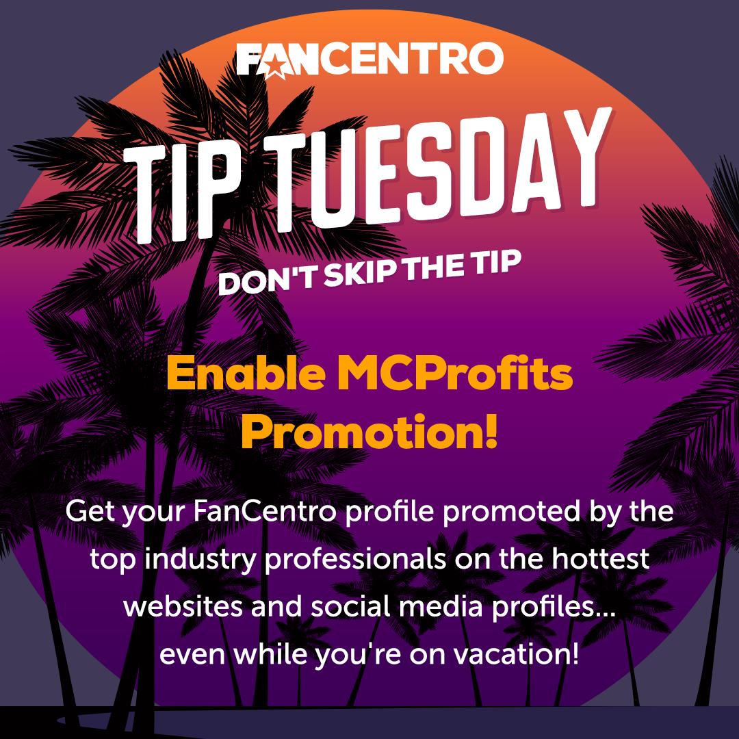 Tip Tuesday: Enable MCProfits Promotion!